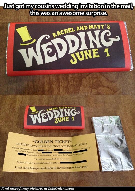 The best wedding invitation