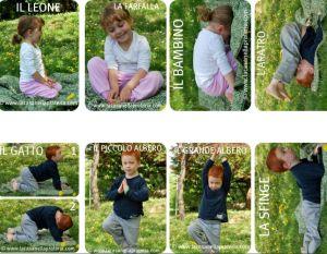 Scarica le Carte da gioco Yoga, per bambini
