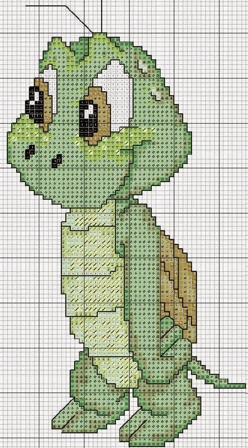 "Delicate Corner: Charts Cross Stitch ""Turtles"""