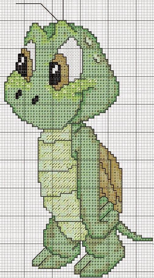 "Delicate Corner: Charts Cross Stitch ""Turtles"""