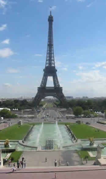 Eiffel Tower! Paris is a two hour train ride away from London!!!! DAY TRIP????