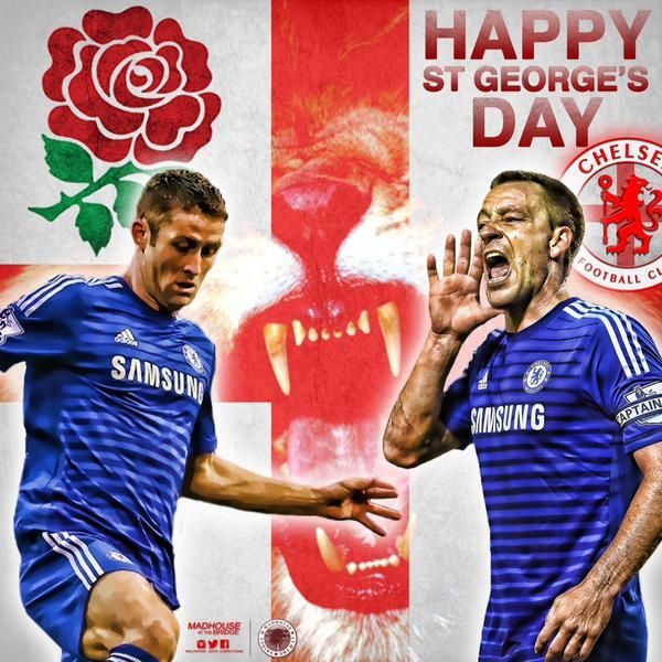 #CHELSEA FC / St George's Day