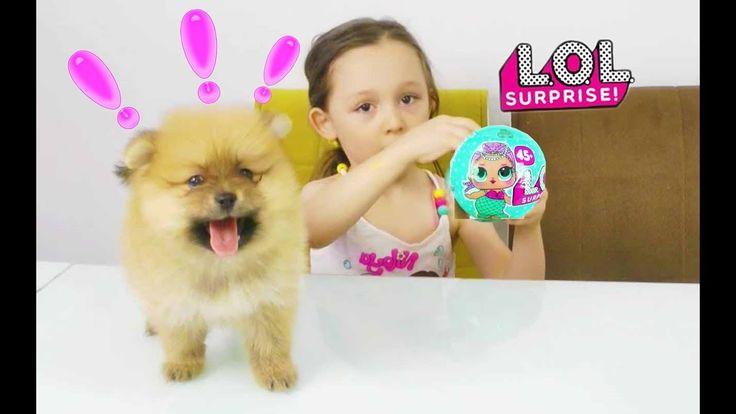LoL Sürpriz Yumurta Açıyoruz Öykü ve Boo Köpek #1