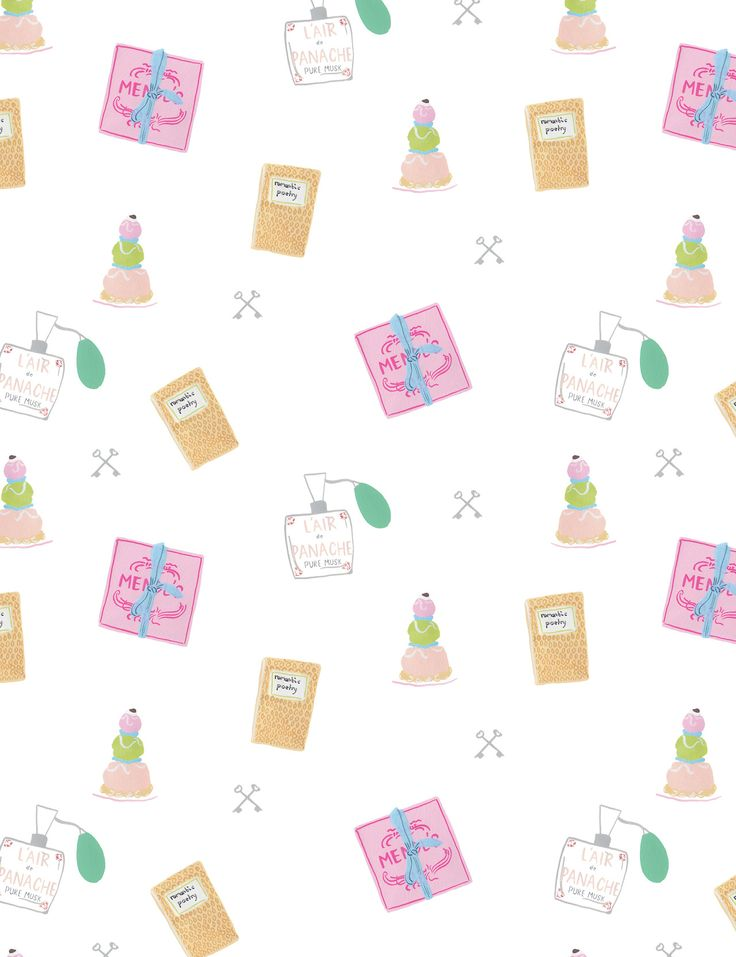 the grand budapest hotel repeat surface pattern design