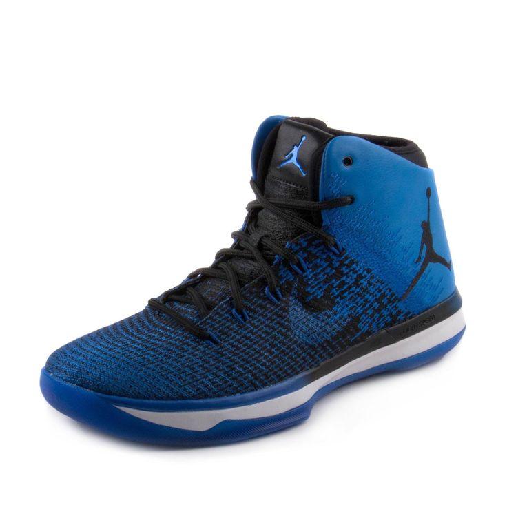 Nike Jordan Men's Air Jordan XXXI Black/Game Royal White Basketball Shoe 10 Men US