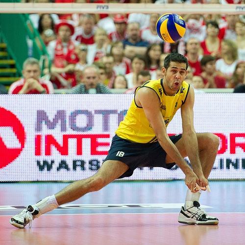 Dante Amaral of Brazil Volleyball Team  Fot. Mariusz Pałczyński / http://www.facebook.com/MariuszPalczynskiPhotography