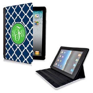Personalized iPad 2/ New iPad Folio Case by LoveyDoveyCreations, $50.00