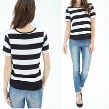 Round neckline broad striped custom t-shirt printing  best buy follow this link http://shopingayo.space