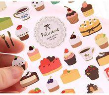 Leuke Kant Taart Papier Sticker Dairy Decoratie label/Scapbook deco/Telefoon stickers/etiqueta engomada(China (Mainland))