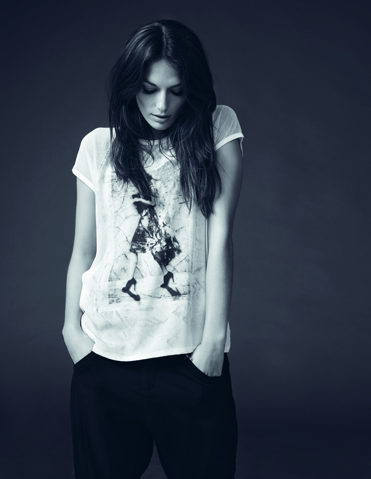 soyaconcept - t-shirt - blouse pants - printet