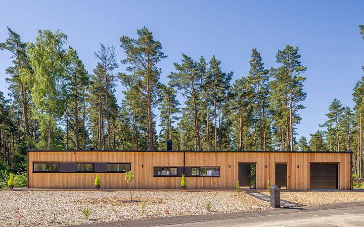 """Modernt hus A3072  """"Alla familjer är olika – därför är varje Willa Nordic unikt!"""" willanordic.se"""
