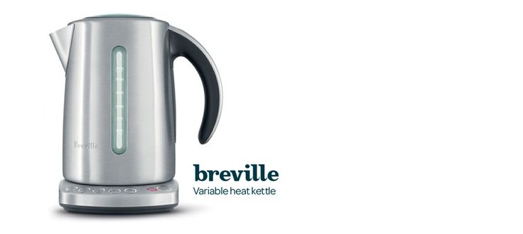 Breville Variable Heat Kettle by DavidsTea