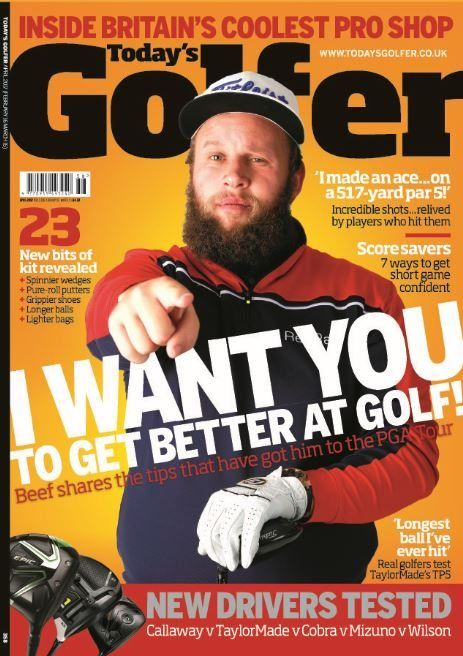 """In this issue:  """"I WANT YOU TO GET BETTER AT GOLF!"""" Beef shares the tips that have got him to the PGA Tour  23 new bits of kit revealed  'I made an ace... on a 517- yard par 5!' Incredible shots... relived by players who hit them  Scoresavers - 7 ways to get short game confident  'Longest ball I've ever hit' Real golfers test TaylorMade's TP5  New Drivers tested"""