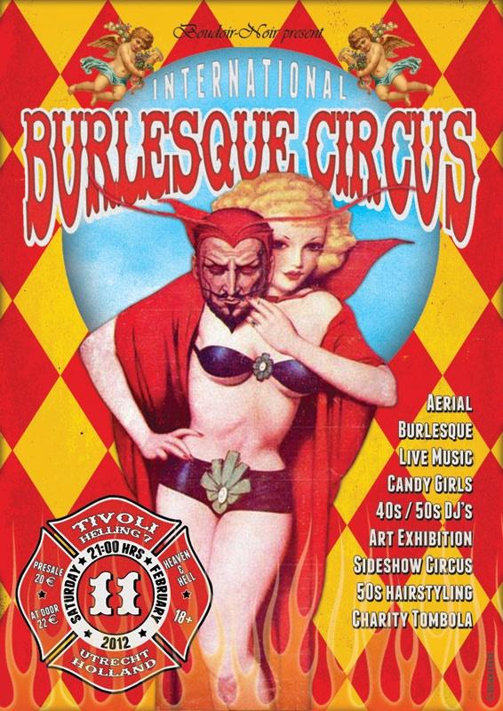 International Burlesque Circus, Tivoli Helling Utrecht 2012