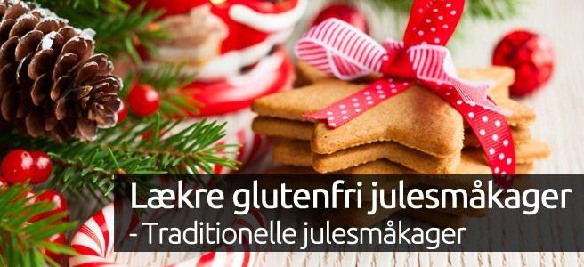 Lækre glutenfri julesmåkager