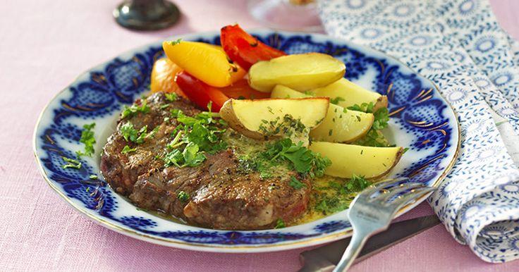 Recept entrecote med bearnaisesås