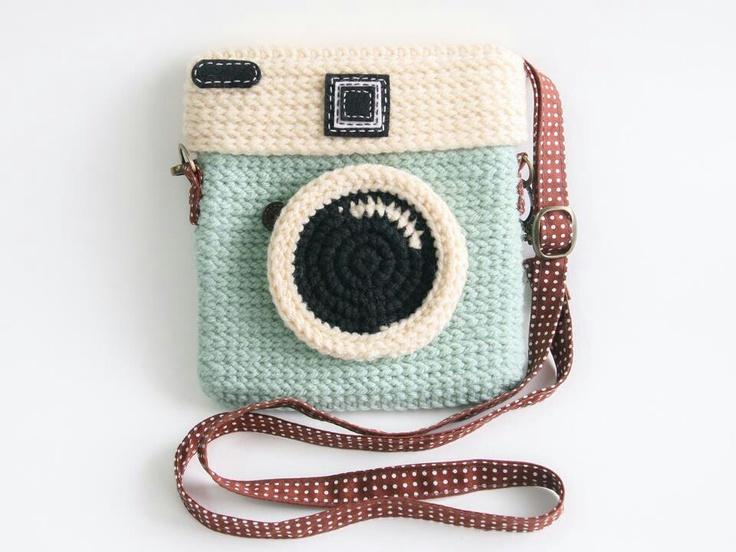 Crochet camera bag                                                       …