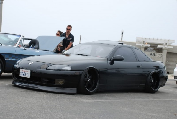 One flushed Lexus Coupe