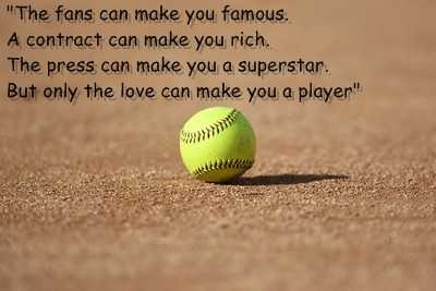 Fastpitch Quotes And Sayings | Fastpitch softball sayings.