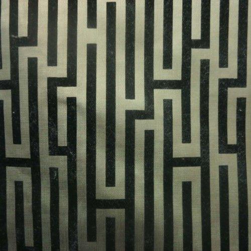 Black Geometric Flocked Sage Vinyl Decorative Fabric #rexfabrics #fabrics #interior #interiordesign #exterior #exteriordesign #fancy #design #designer #fabricstore #miami #coralgables #brickell #upholstery #cushions #tablecloth #linen #store #retailstore #follow #mustfollow #like #like4like #likes #picoftheday #photooftheday #onlyatrexfabrics #canvas #marine #marinefabrics