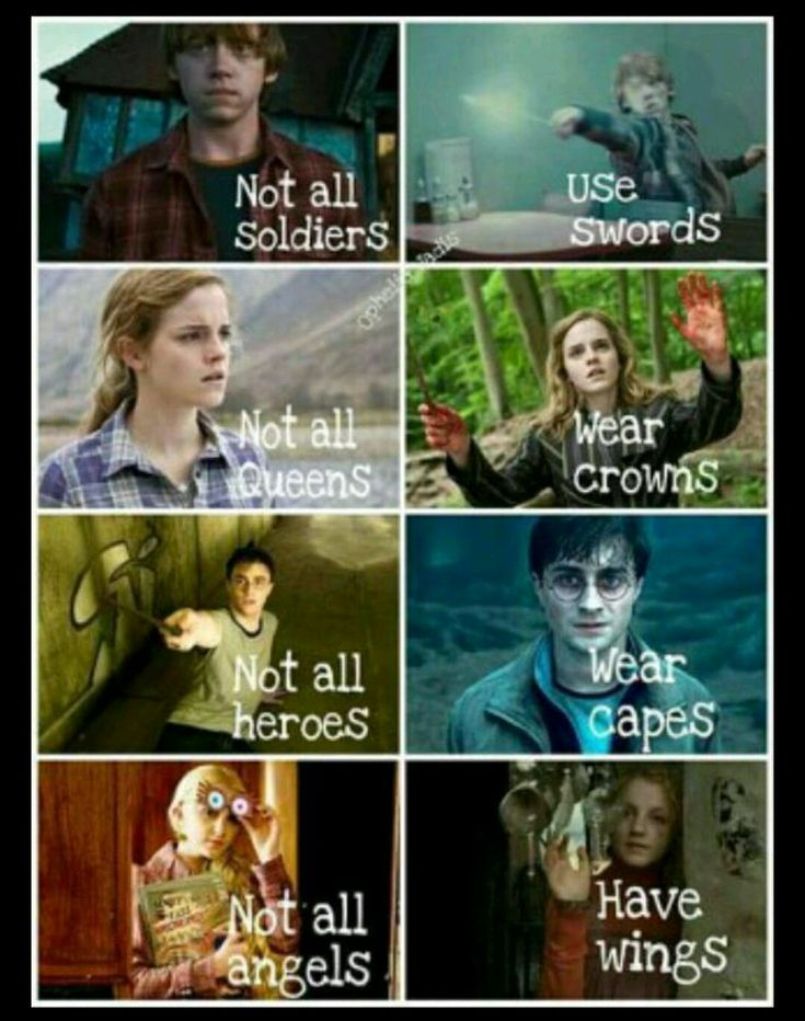 The Harry potter life And it's so sad