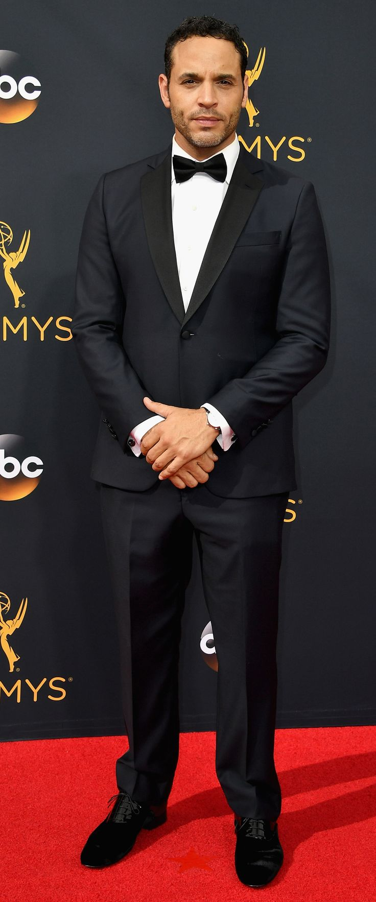 Check Out the Hottest Men on the 2016 Emmys Red Carpet - Daniel Sunjata from InStyle.com