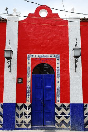 Ocampo Front Door - Mexico