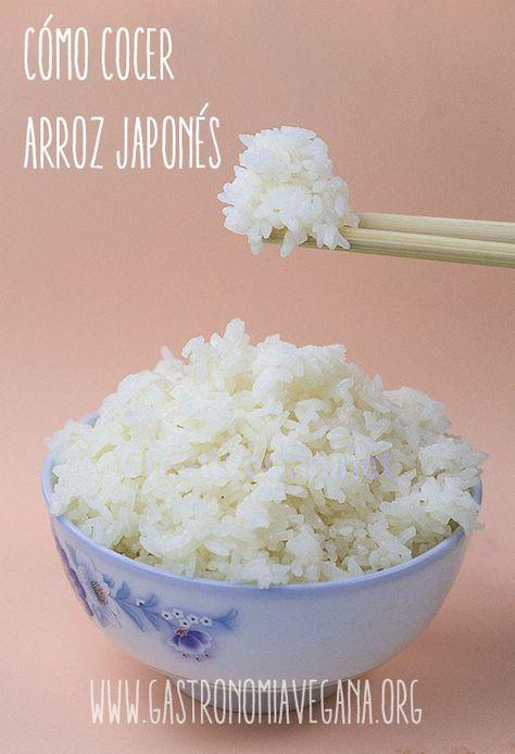 Tutorial: cómo cocer arroz japonés