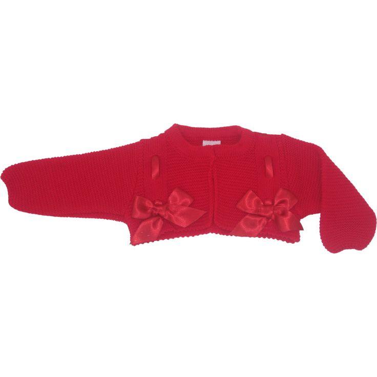 Chaqueta de lana con pasacintas dos lazos de raso XX