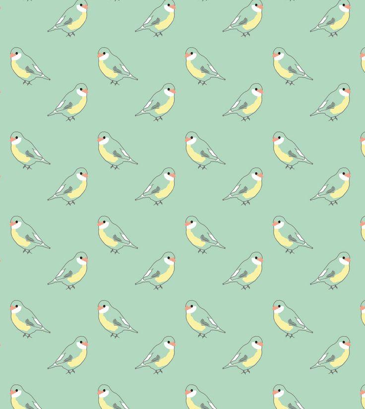 les 25 meilleures id es de la cat gorie papier peint oiseaux sur pinterest oiseaux jaunes. Black Bedroom Furniture Sets. Home Design Ideas