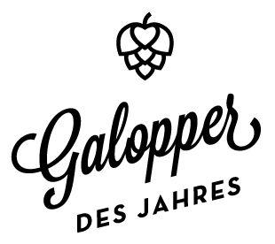 Galopper des Jahres Hamburg #logo #beer #mark #identity #hops #heart #symbol #beer #brewery