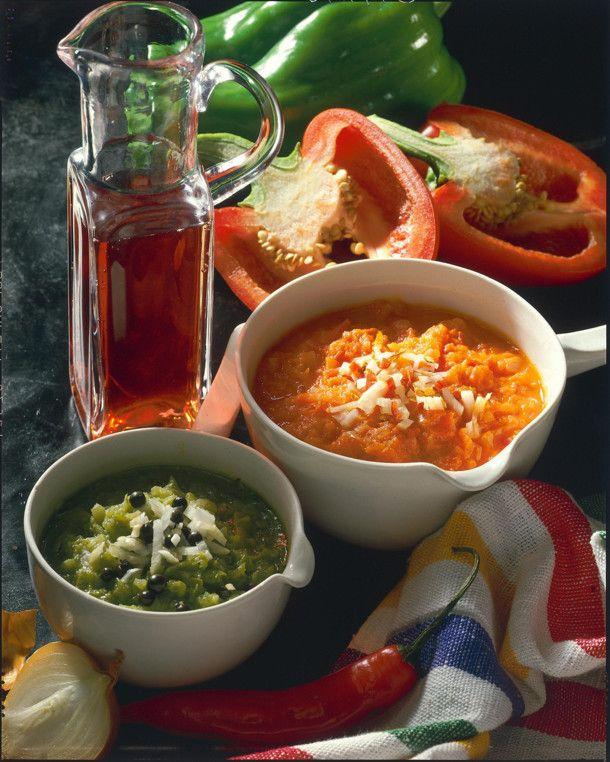 Unser beliebtes Rezept für Rotes und grünes Paprika-Relish und mehr als 55.000 weitere kostenlose Rezepte auf LECKER.de.