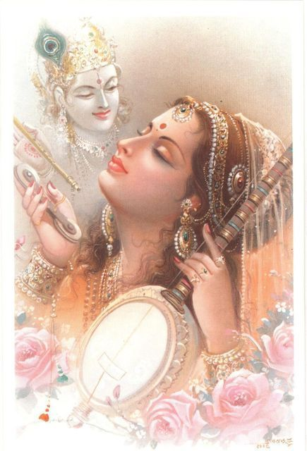 Mirabai .... love all encompassing for Lord Krishna