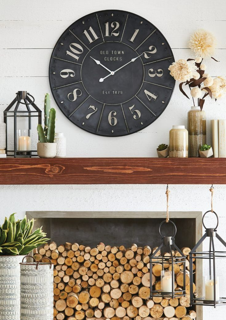 A Year In Mantels Fireplace Mantel Decor Home Home Decor
