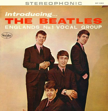 Image result for the beatles first album released in the u.s. hits the store shelves