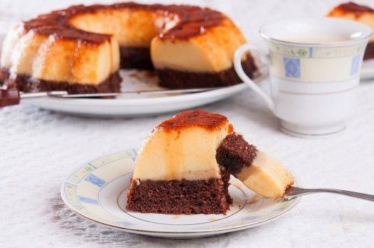 Рецепта за Кодрит Кадир. Пълна рецепта за арабски сладкиш с крем карамел и блат Кодрит Кадир. Рецептата за Кодрит Кадир стъпка по стъпка.