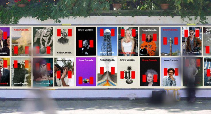 Redesigning Canada for the 21st century / Bruce Mau #bruce #mau #canada #grafica #adv #corporate