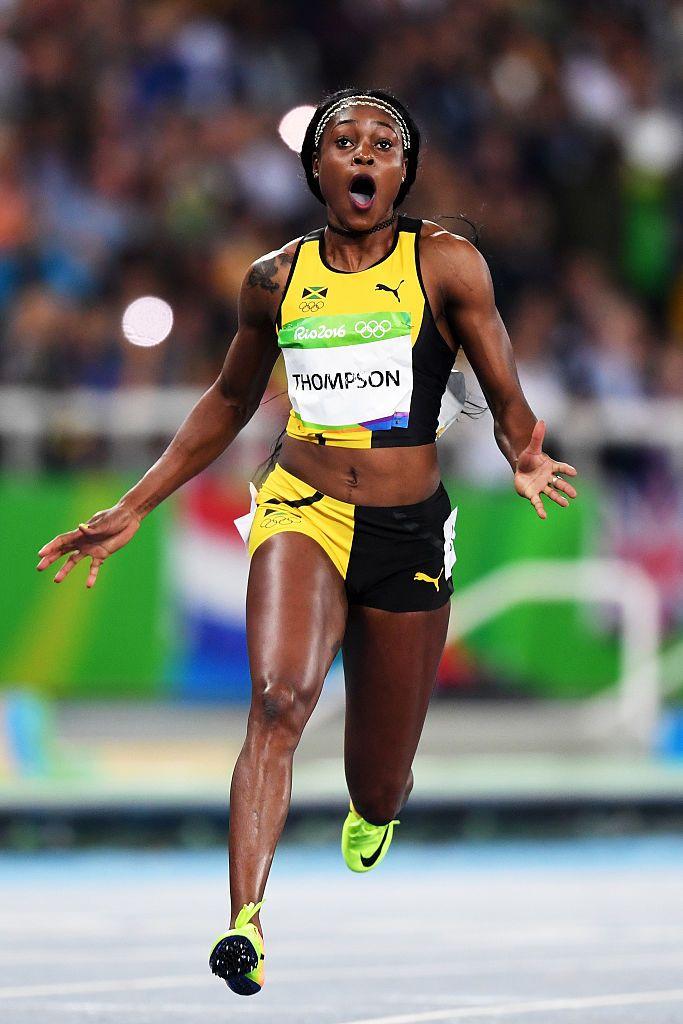 女子100メートルはトンプソン優勝 #陸上 #リオ五輪