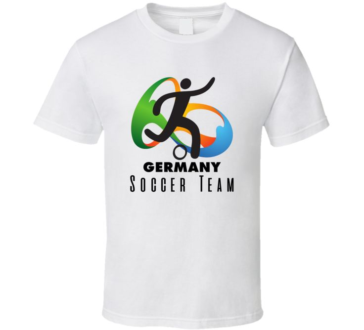 Germany Soccer Team Rio 2016 Olympic Event Logo T Shirt