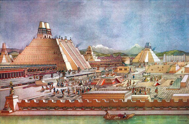Mēxíco-Tenōchtítlān was the capital of the Mexica Empire or Triple Alliance (Ēxcān-Tlahtolōyān). Founded in 1325, it is the PRESENT México City.