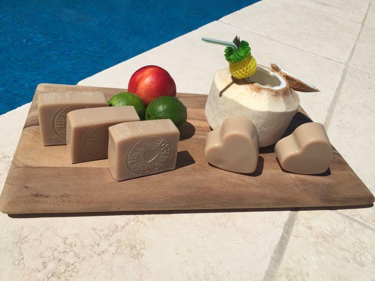 Coconut Cream natural soap.