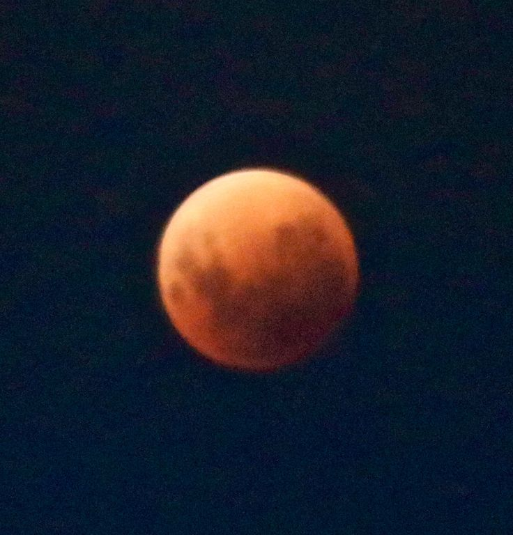 Blood red moon...Eclipse