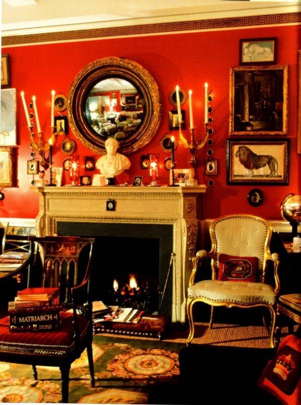 Pareti Rosse su Pinterest  Camere rosse, Pareti della cucina rosse ...