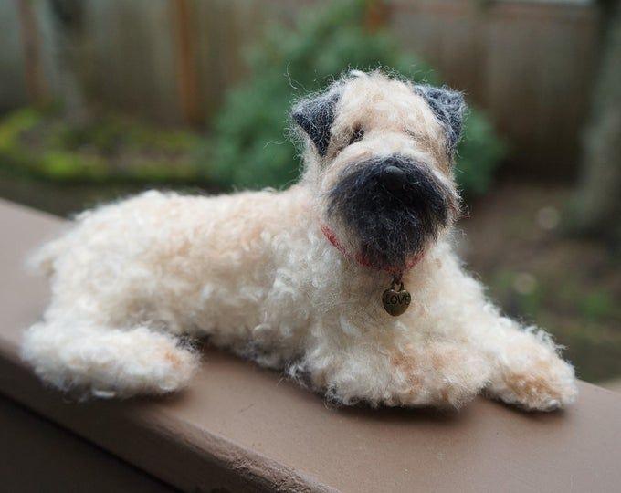 Nadel Gefilzt Maltesischen Hund Wolle Maltipoo Welpen Filz Etsy Maltipoo Puppy Felt Animals Felt Dogs