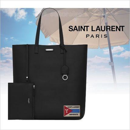 ●2017●Saint Laurent YSL Universite トートバッグ ポーチ付  サンローラン 2017 ファッション