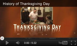 This video reviews the history of Thanksgiving and how it became a national holiday. It is paired with three extension activities for grades K-5. http://www.teachervision.fen.com/thanksgiving/video/72968.html