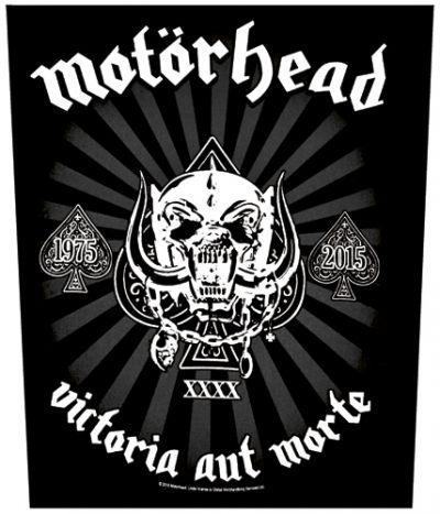 Dossard MOTORHEAD - Victoria Aut Morte - Dossards - www.rockagogo.com
