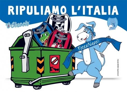 CIUCCIO POSTER MONNEZZA 100X70CM  Poster di carta del Ciuccio.