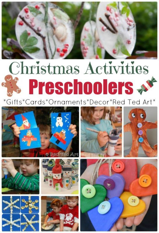 Over 50 Christmas Crafts for Preschoolers! We love these great crafts and activities for tots and preschoolers, keeping them busy and making things festive these holidays! Merry Christmas!
