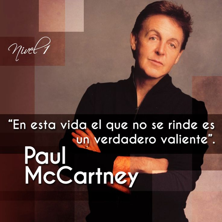Paul McCartney #frases#citas#quotes